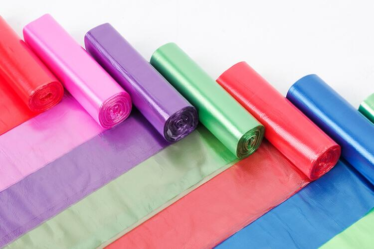 Colorful Garbage Bags