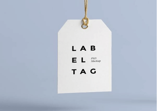 a label